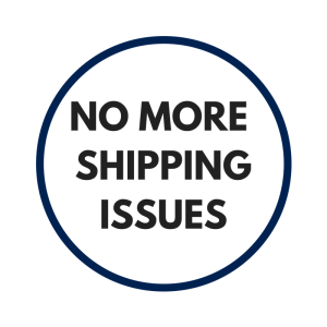 No more shipping issues
